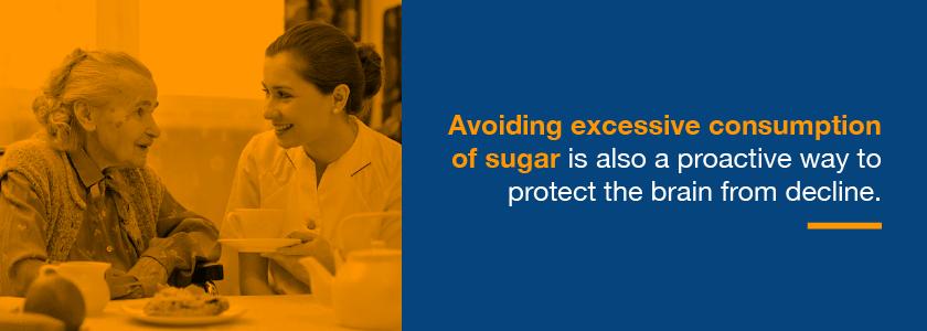 sugar can cause brain health to decline